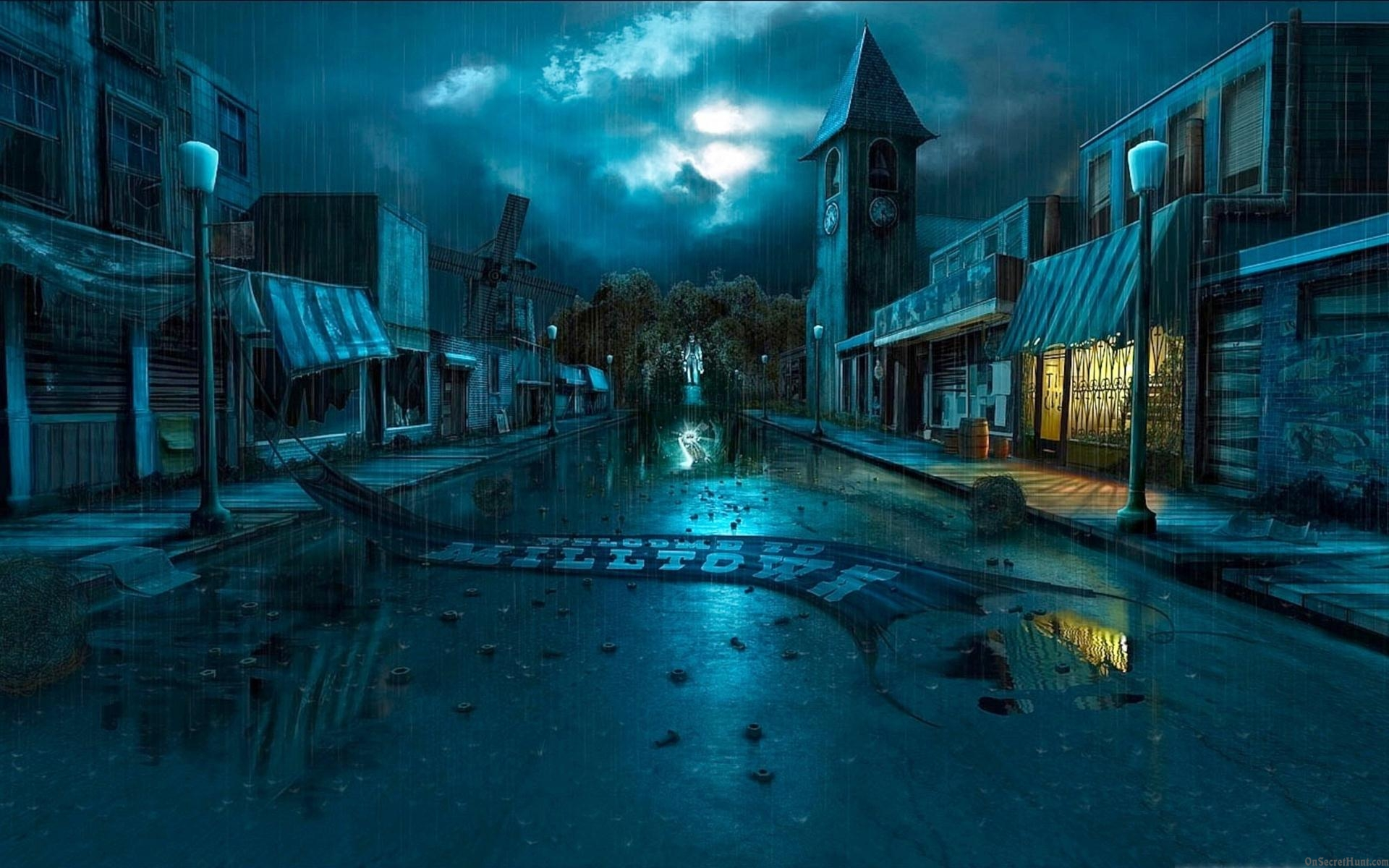 3d Wallpaper Custom Photo Hd Art Photography City: Fantasy City Wallpapers, Pictures, Images